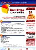 seminar internet marketing bandung 30 agustus 2013