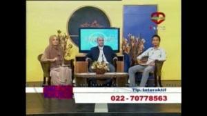 foto talkshow di bandung tv
