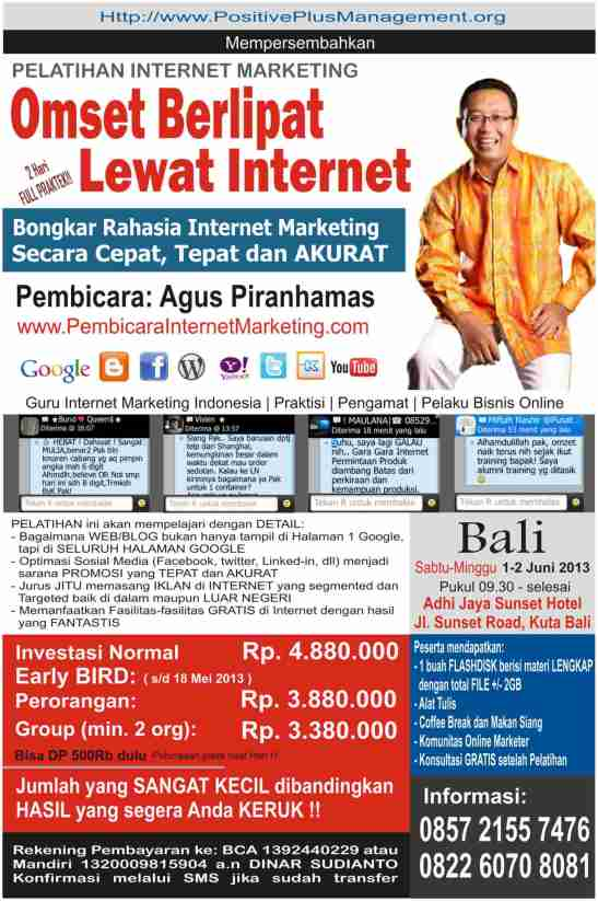 Internet Marketing Bali