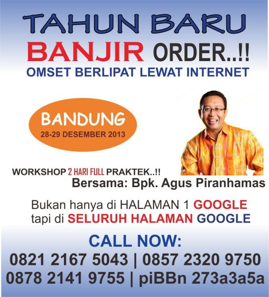 pelatihan internet marketing bandung
