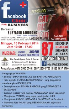 pelatihan facebook marketing, pelatihan internet marketing bandung