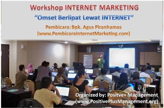 pelatihan intenet marketing bandung 2014, workshop pembicara internet marketing