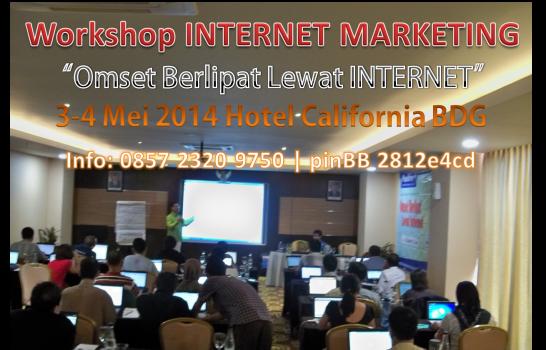 Pelatihan Internet Marketing di Bandung, Pelatihan SEO Bandung