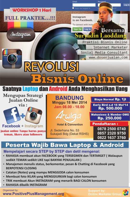 Bisnis Online Instagram, Cara Bisnis Online di Instagram