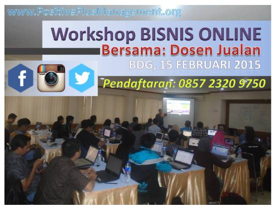 Kursus Bisnis Online Bandung, Pelatihan Bisnis Online di Bandung, Training Bisnis Online Bandung
