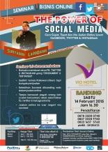 Seminar Facebook Marketing, Seminar Online Marketing, Seminar Facebook dan Online Marketing, seminar instagram, info Seminar Twitter