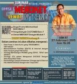 Seminar Internet Marketing di Bandung,