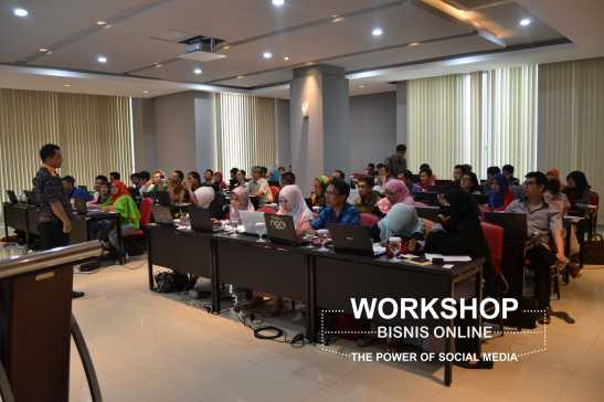 Workshop Bisnis Online Bandung
