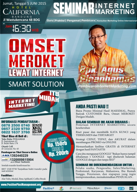 Belajar Internet Marketing Bandung, Seminar Internet Marketing Bandung