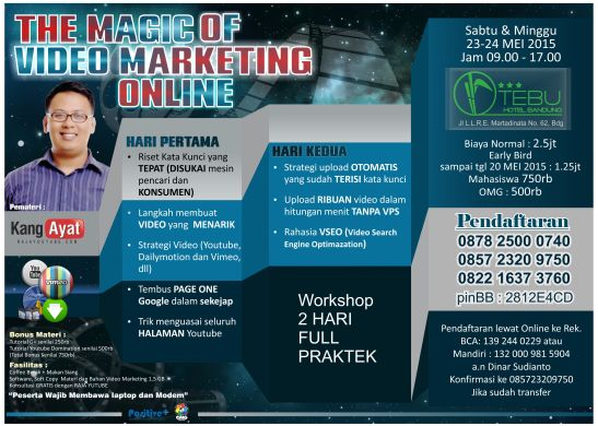 Belajar Video Marketing