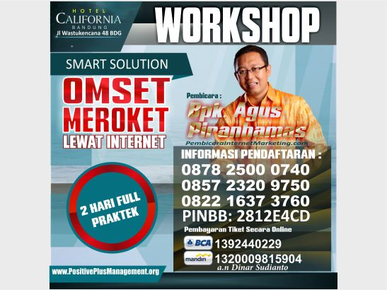 Workshop Internet Marketing Bandung