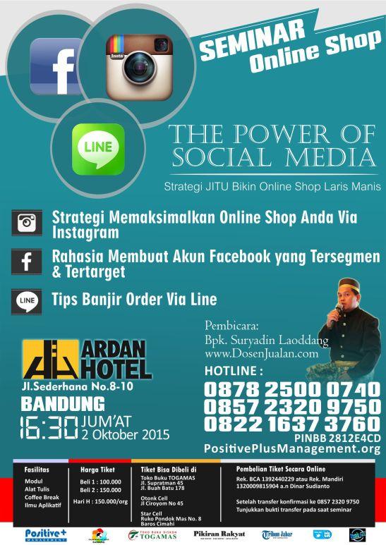 Seminar Online Shop