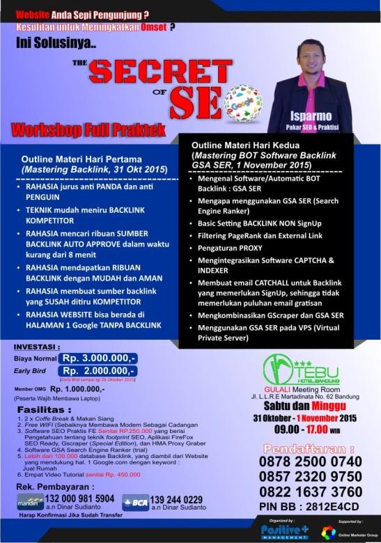 Workshop SEO di Bandung