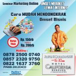 Seminar Marketing Online