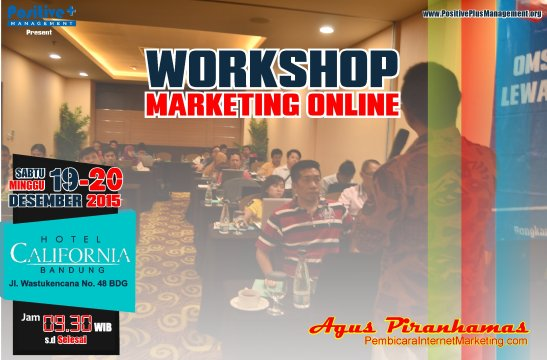 Training Marketing Online, Training Marketing Online Bandung, pelatihan Pemasaran Online