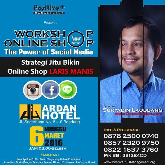 Belajar Menjadi Online Shop, Belajar Usaha Online Shop, Belajar Online Shop