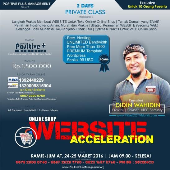 Belajar Membuat Website Toko Online, Belajar Membuat Website Untuk Bisnis Online