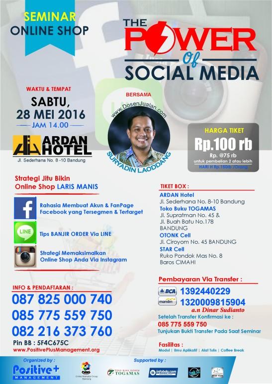 eminar Social Media Marketing, Seminar Sosial Media, Seminar Tentang Sosial Media, Seminar Meningkatkan Penjualan