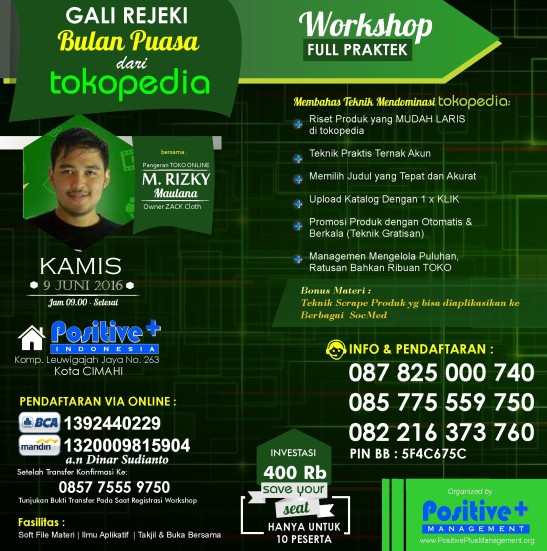 workshop online marketing, pelatihan online marketing, pelatihan internet marketing