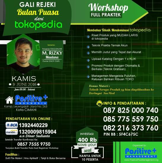 workshop online marketing, pelatihan online marketing, pelatihan internet marketing