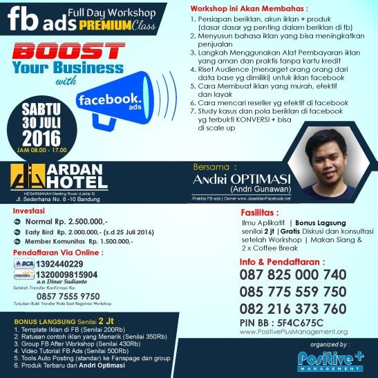 fb ads untuk pemula, belajar fb ads pemula, belajar teknik fb ads, pelatihan fb ads