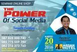 Seminar Social Media Marketing, Seminar Sosial Media, Seminar Tentang Sosial Media