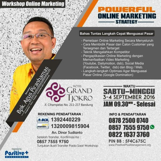 Workshop Online Marketing