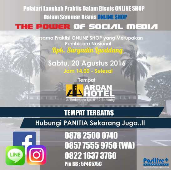 Bisnis Online Instagram, Bisnis Online Shop