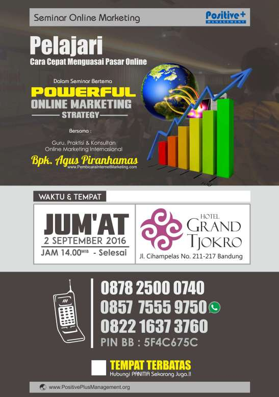 Belajar Internet Marketing, Strategi Internet Marketing