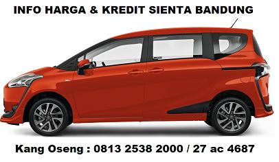 Simulasi Kredit Toyota Sienta Bandung