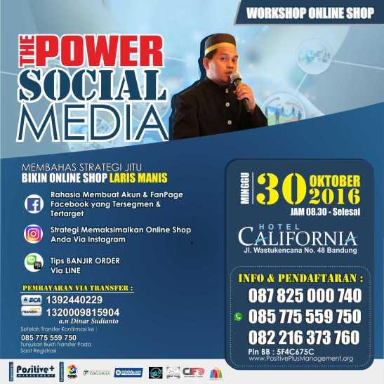 Pelatihan Bisnis Online di Bandung, Cara Gunakan Instagram, Bisnis Online Instagram, Bisnis Online Shop, Cara Sukses Bisnis Online