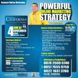 Seminar Internet Marketing di Bandung, Seminar Internet Marketing, Seminar Internet Marketing