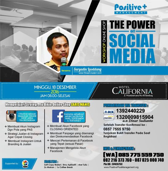 Belajar Bisnis Online Shop Bagi Pemula, Pelatihan Bisnis Online di Bandung