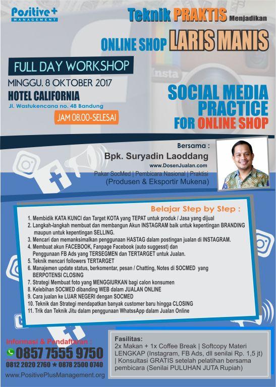 Bisnis Online Shop Bagi Pemula, Pelatihan Bisnis Online di Bandung